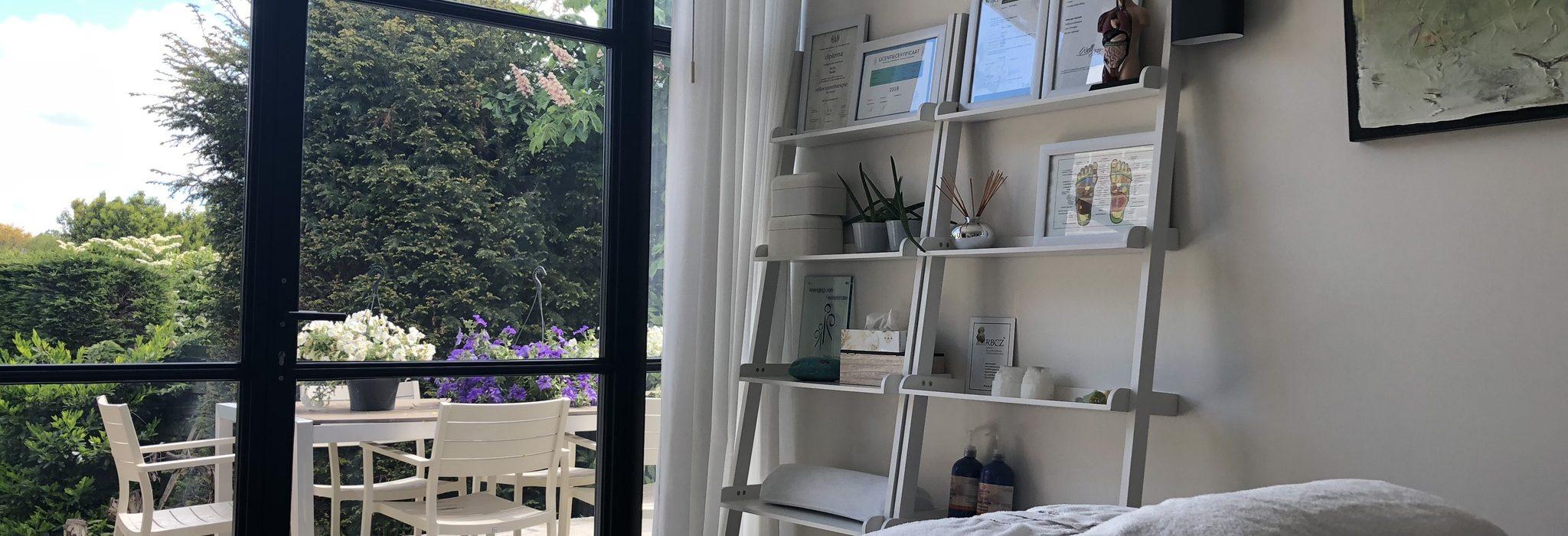 Praktijkruimte Jessica Raven WellJess massage Oostvoorne